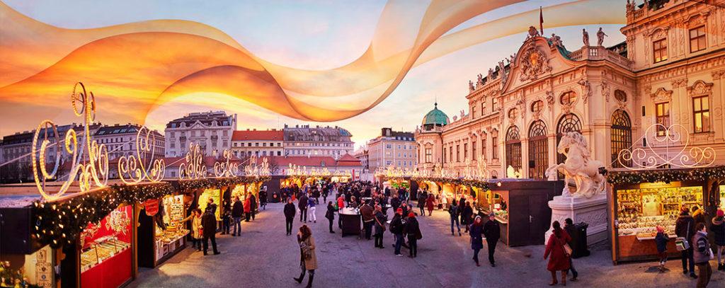 Рождественские базары в Вене: Weihnachtstraum