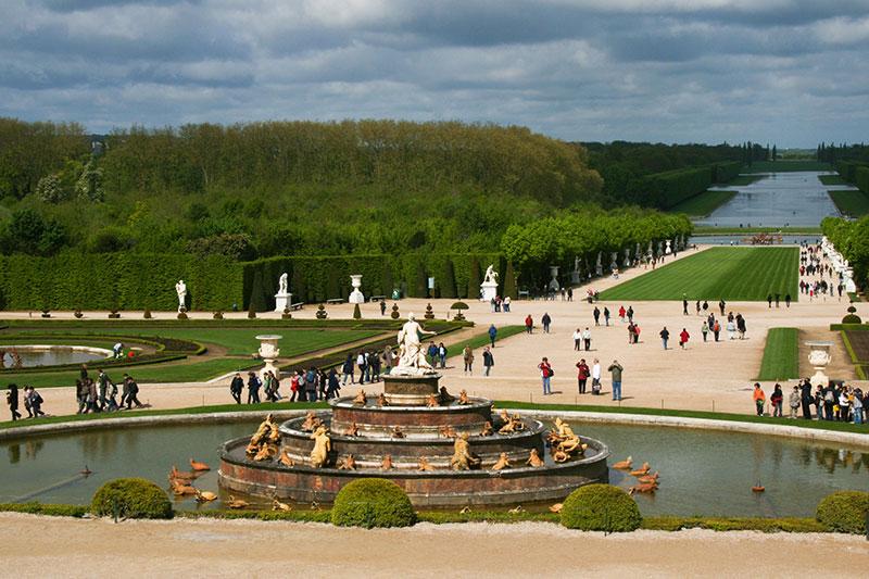 Парк Версаля (Париж, Франция)