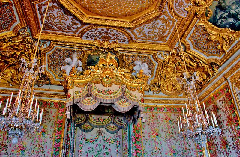 Что посмотреть в Версале: спальня трех королев