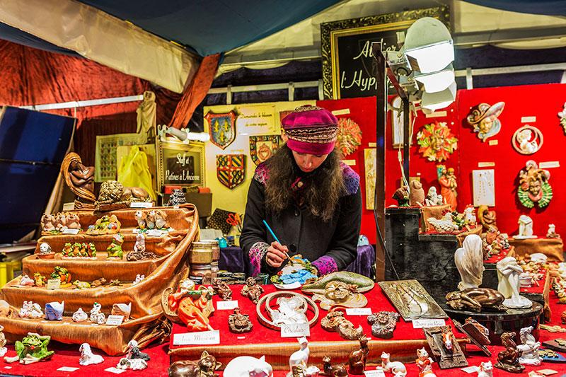 Рождественские ярмарки в Париже: Magie de Noël aux Tuileries