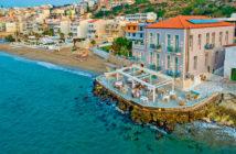 Экскурсии на Крите: отель со своим пляжем в Ретимно