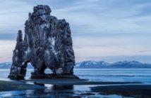 Панорама скалы Хвитсеркур, Исландия