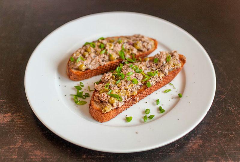 Рецепт пасты из печени трески для бутербродов / тостов