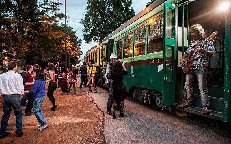 Необычные экскурсии в Риме: прогулка на трамвае
