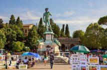 Как добраться до площади Микеланджело