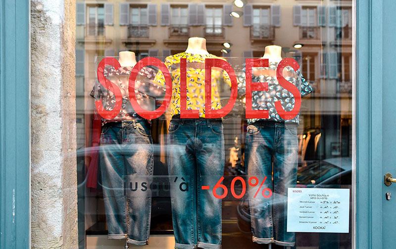 В Париж в феврале: разгар зимних распродаж