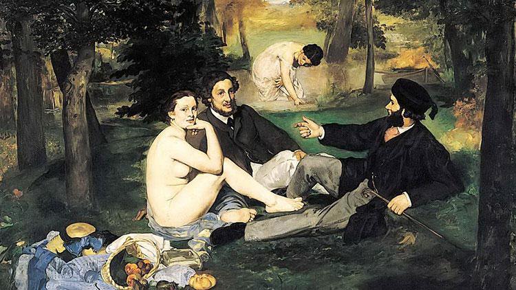 «Завтрак на траве» Эдуарда Мане (музей Орсе, Париж)