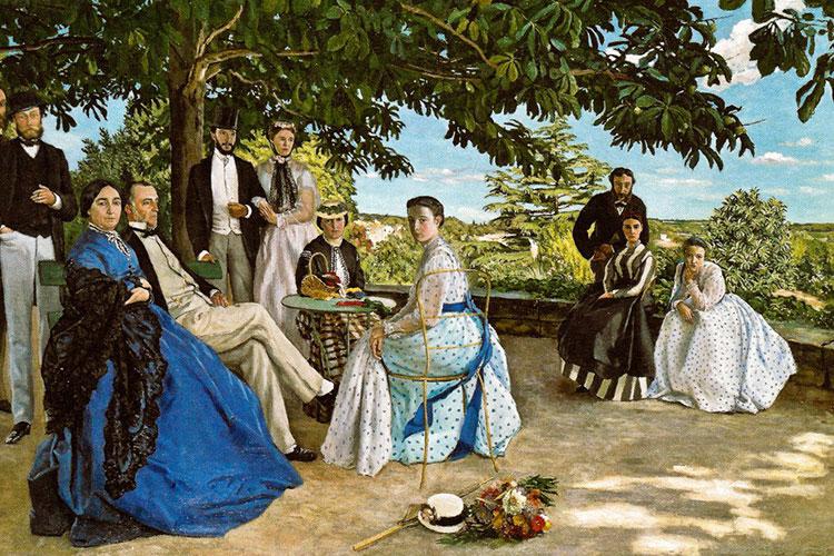 «Семейный портрет», Фредерик Базиль