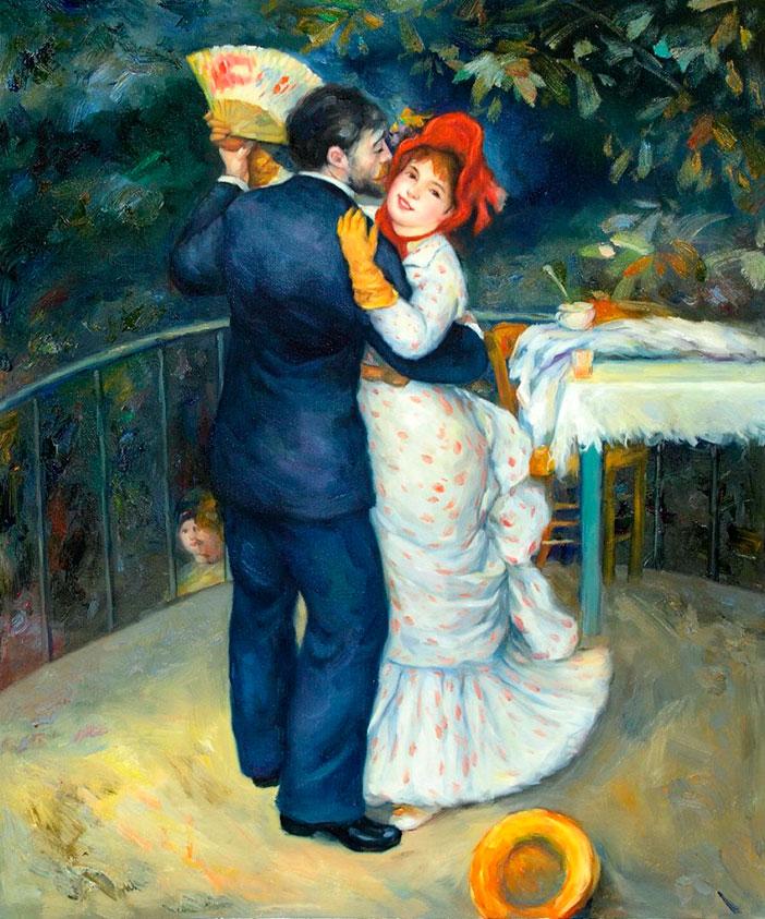 «Танец в деревне», Огюст Ренуар