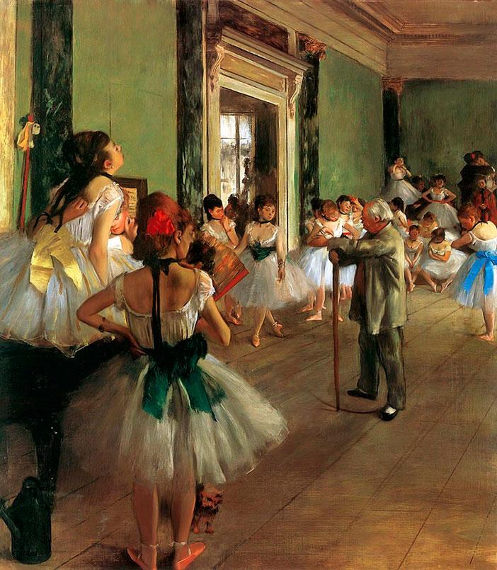 Эдгар Дега, Балетный класс