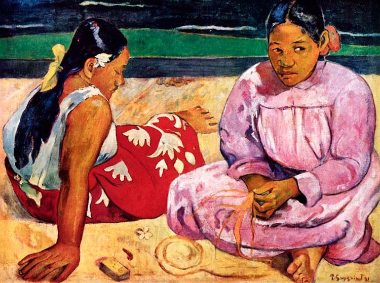 Поль Гоген, Таитянские женщины
