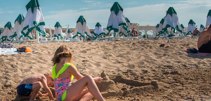 Пляжи Евпатории для детей
