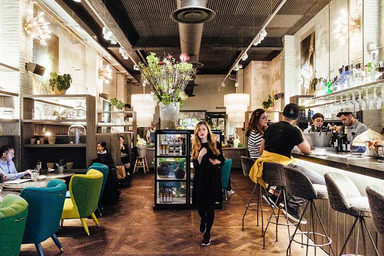 Зима в Барселоне: кафе-бар Jaime Beriestain Зима в Барселоне 2020 Зима в Барселоне 2020: погода, стоит ли ехать, что посмотреть barselona zimoj 9