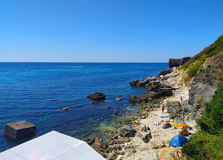 Лучшие пляжи Фиолента