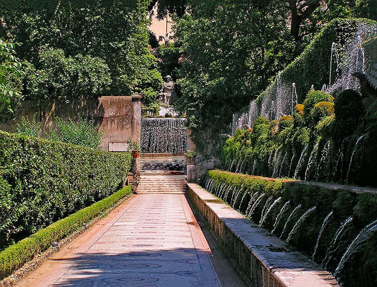 Куда съездить из Рима: вилла д'Эсте