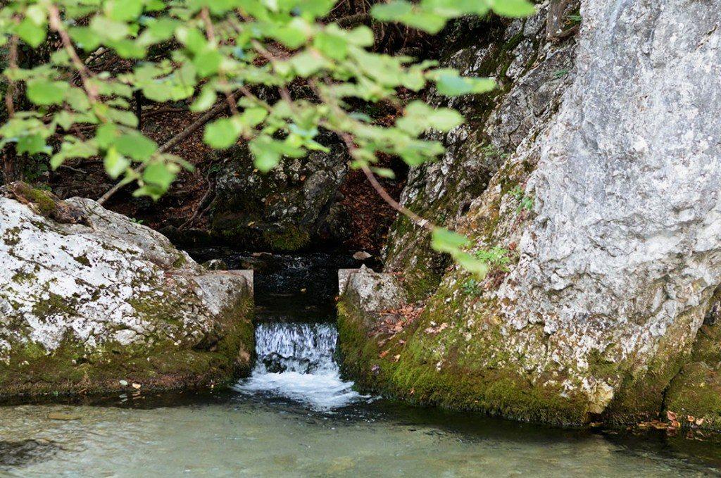 Источник «Пания», Большой каньон Крыма