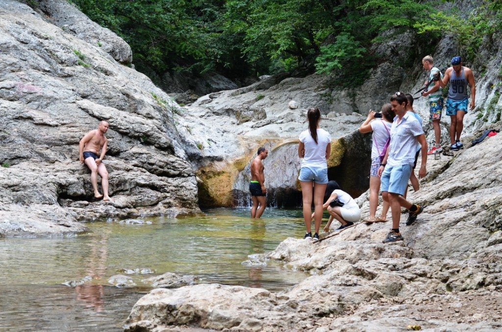 Ванна молодости, Большой каньон Крыма
