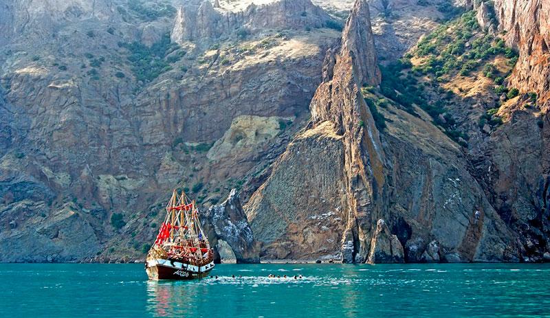 Морская прогулка, Карадаг, Крым
