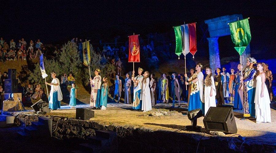 Фестиваль «Боспорские агоны», Крым