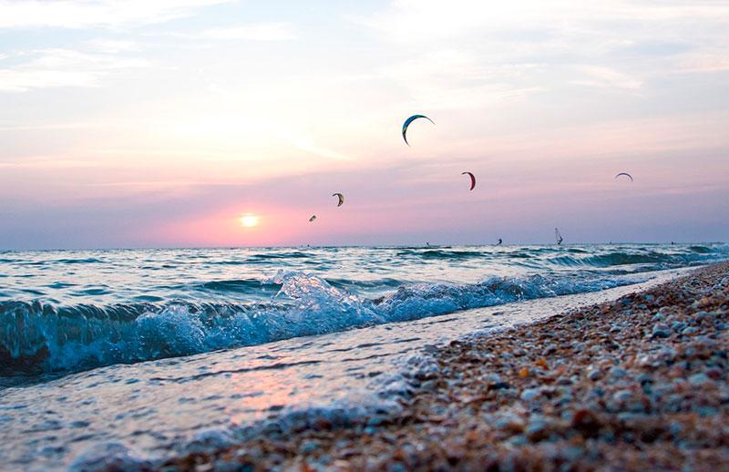Пляжи Азовского моря, Россия