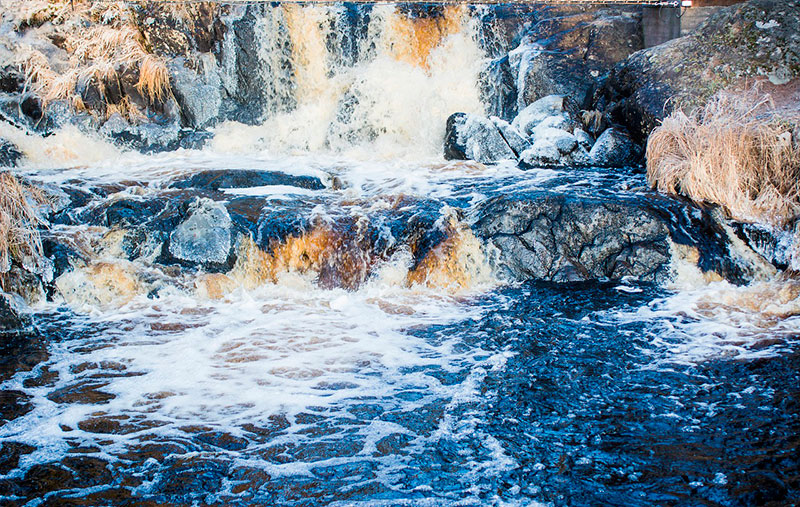 Долина водопадов в Карелии
