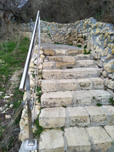 Лестница на Яшмовый пляж, Крым