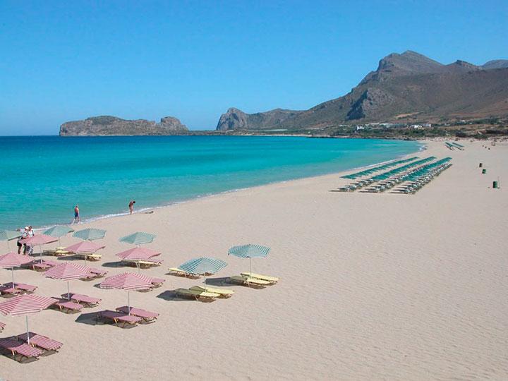 Пляжи западного Крита: Фаласарна