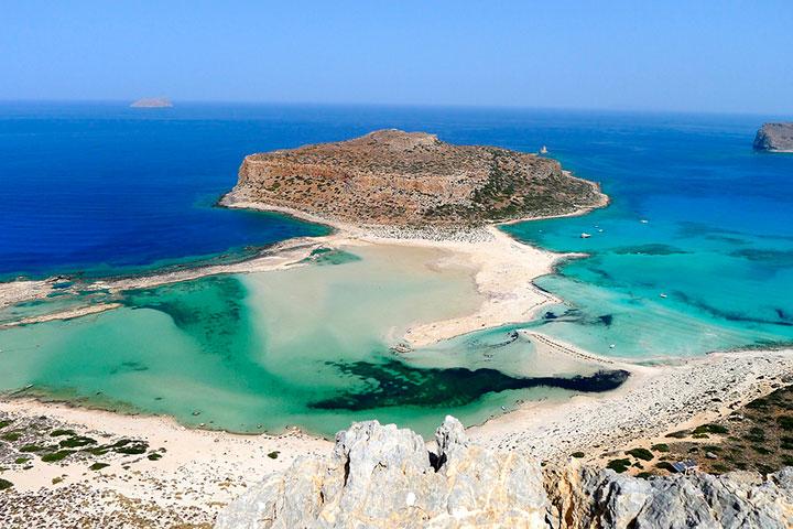 Пляж Балос, Крит, Греция