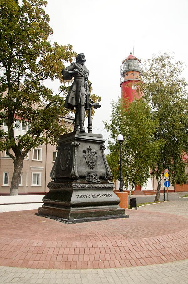 Что посмотреть в Балтийске: памятник Петру I