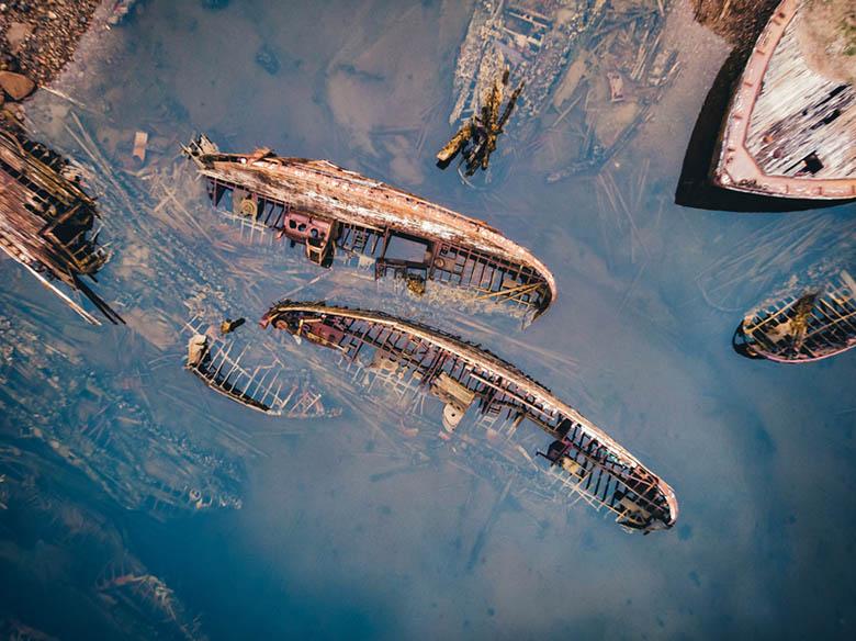 Кладбище кораблей, Териберка